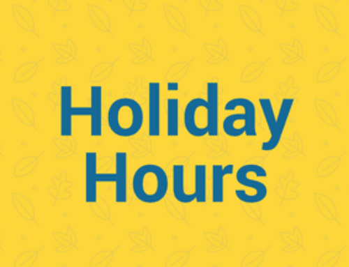 Office Holiday Hours 2017